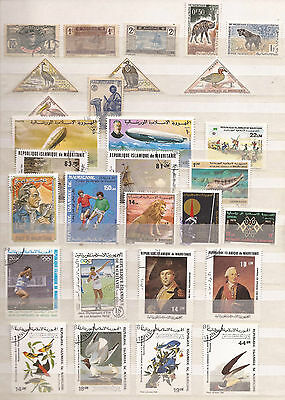 Mauritania  - Lot Of Stamps