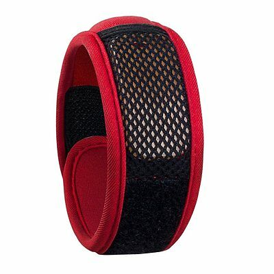 SOSS Mosquito Repellent Wristband (Red)