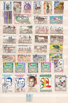 Mali  - Lot Of Stamps