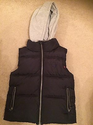 Girls Navy Body warmer Next Age 9-10