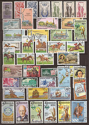 Togo  - Lot Of Stamps  - See The 2 Images