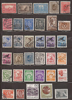Yugoslavia  - Lot Of Stamps  - See The 3 Images