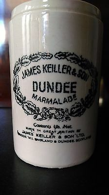200 year old early 1800s antique James Keiller marmalade jar