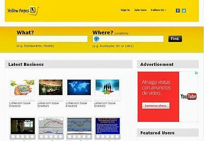 Yellow Pages Directory - Free Installation + Hosting