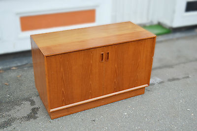 Vintage Retro Danish Sideboard Media Unit Cabinet Mid Century • £220.00