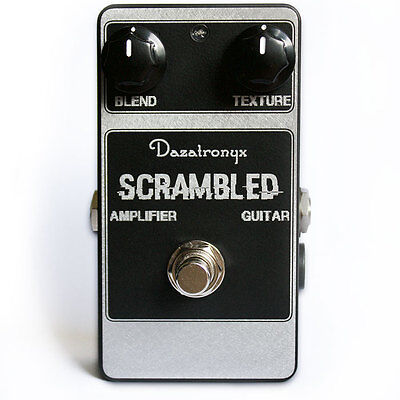 DAZATRONYX - SCRAMBLED!  Ampeg Scrambler Clone Pedal for Guitar or Bass