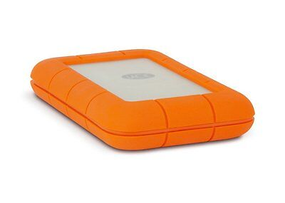 "LaCie Rugged Thunderbolt  (LAC9000488) 2.5"" USB3.0 1TB Festplatte Grey for MAC"