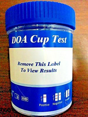 10 Pack - 10 Panel Cup - Test For AMP-MET-MOR-THC-COC-BZO-MTD-OXY-PCP-BAR -NEW!!