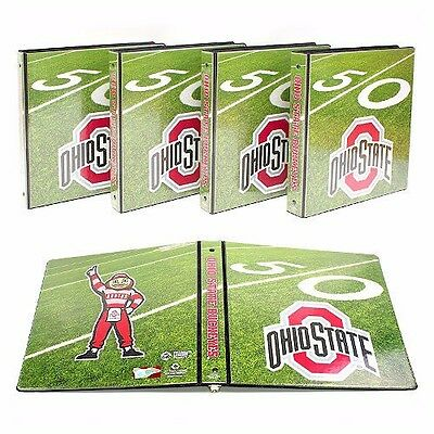 "NCAA Team 1"" College Binders (4 Pack) ~  Choice of Teams ~ New & Factory Sealed!"