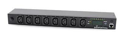 429G0813 - GRAFENTHAL PD-2010 SWITCHED PDU,8xC13OUT C20 IN,16A,230V,REMOTE MON,W