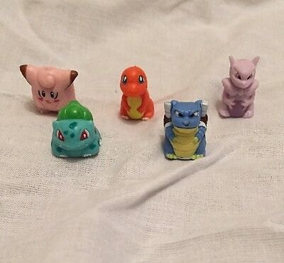 5 x Pokemon Monopoly Spare Parts -Mover Token Counter Only