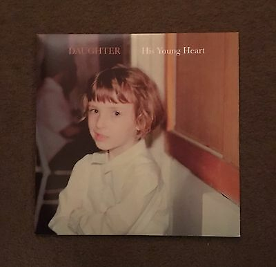 """Daughter - His Young Heart 10"""" Vinyl EP"""