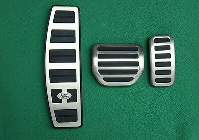 Land Rover Discovery 3 Stainless Steel 3 Piece Pedal Kit New Genuine Lr008713