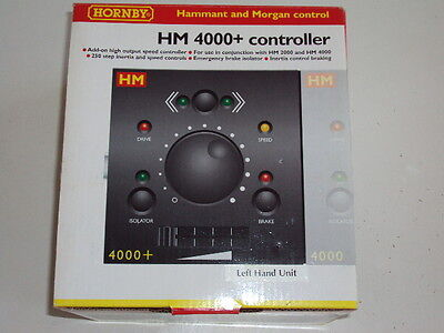 HM4000+  HORNBY R8082 L/H add on high output speed controller