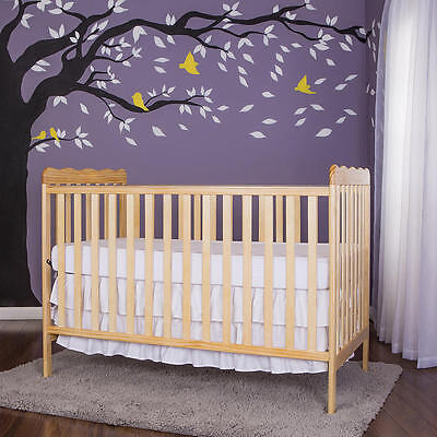Dream On Me Carson Classic 3-in-1 Convertible Crib - Natural
