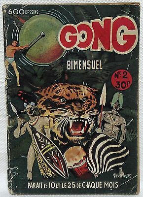 GONG n°2 éditions E.L.A.N. 1950 BE Mouminoux RARE