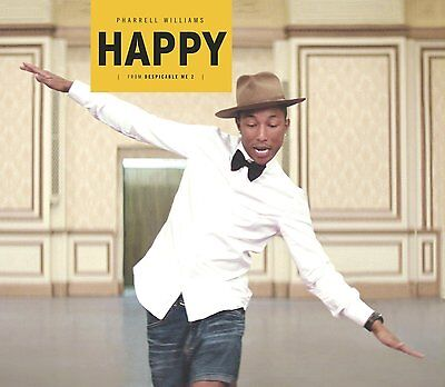 "Pharrell Williams - Happy - New Yellow 12"" Vinyl Single"