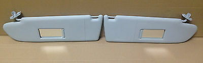 VW T5 GP Transporter Caravelle Sun Visors - Pair With Mirror #1