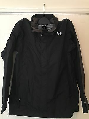 Boys North Face Hooded Waterproof Jacket Size Xl