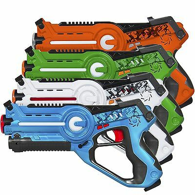 Laser Tag Set for Kids FOUR Different Team Settings Multiplayer 4 Pack New