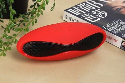 New Portable wireless Bluetooth speaker Dock For Smartphones,iPad,iPhone-red