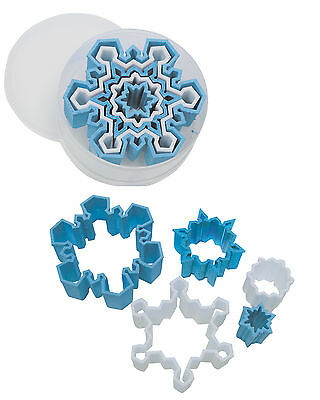 R & M Snowflake Cookie Cutter Set - Plastic