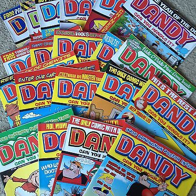 Collection of The Dandy Comics x 22 from 2006