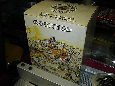 Boyds Wilson's Books Bearly-Built Villages Gothic Discontinued Boxed 2001