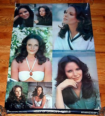 JACLYN SMITH as Kelly Charlie's Angels Collage Poster 1977 Bi-Rite NEAR MINT