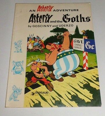 Astérix and the Goths - Dargaud Canada 1980