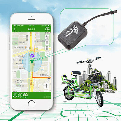 Car Vehicle GSM GPRS GPS Anti-theft SMS Real Time Tracking Tracker DC9V-48V