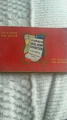 Catalogue /Review for OLYMPIA IDEAL HOME EXHIBITION 1948