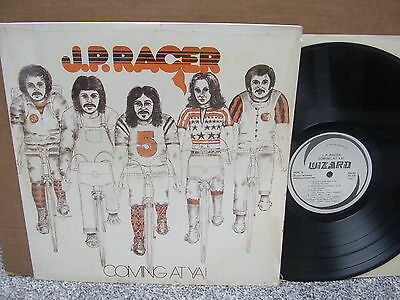 J.P. RACER – COMING AT YA! Private Wizard 1301 '77 LP US PSYCH ROCK EX Shr rare!