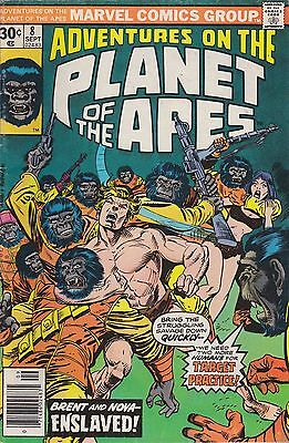 Adventures On Planet Of The Apes #8  Marvel 1976