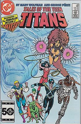 Tales Of The Teen Titans #60 Dc 1985
