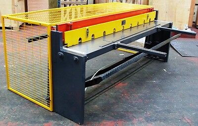 New CARTER 2500x1.2mm Treadle Operated Sheet Metal Guillotine