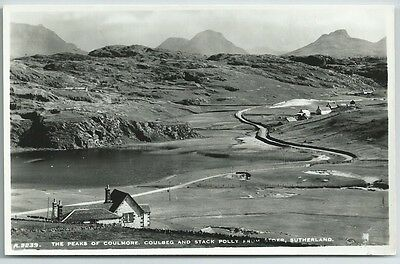 Vintage Postcard. Peaks Of Coulmore, Coulbeg & Stack Polly From Stoer. Ref:62397