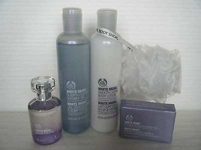 """Body Shop """" White Musk """"  Collection - Some Rare - All New - Recorded Delivery"""