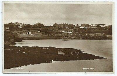 Vintage Postcard. RP.  Moelfre. Anglesey. Used 1934.. Ref:67465.