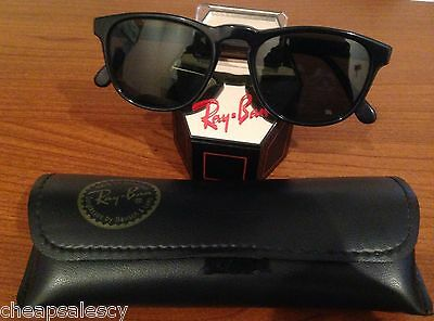 B&l Ray Ban Gatsby Style 2 W0934 Old Model Black Sunglasses With Case