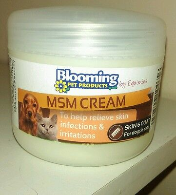 Blooming Pets MSM Cream 100G DOG anti bacterial For Skin Irritations