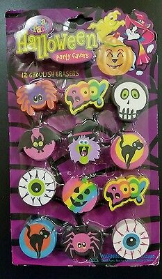 Lisa Frank Party Favors Halloween Erasers