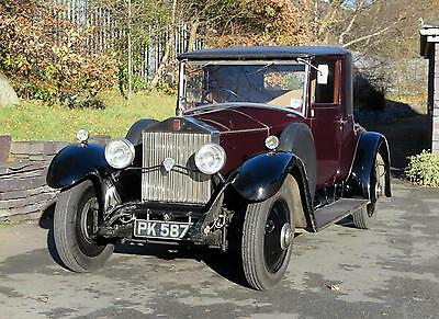 1929 Rolls-Royce 20hp Fixed Head Coupe GFN80