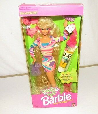 Totally Hair Barbie 1991 Longest Hair Ever Blonde Hair NRFB  H502