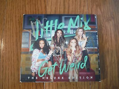 Little Mix Autographed Get Weird Deluxe CD Hand Signed