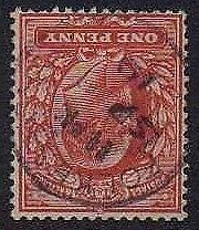 1902 KE7 Fine Used SG220Wi 1d Bright Scarlet Lovely Condition