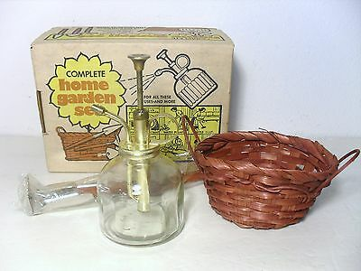 Vintage Complete Home Garden Set, 1974. New In Box