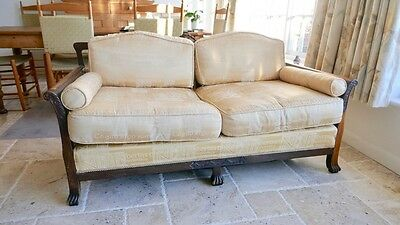 Bergere suite of 3-seat sofa with 2 armchairs