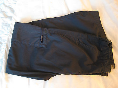 CRAGHOPPERS SOLARSHIELD NAVY CARGO TROUSERS - AGE 9 years