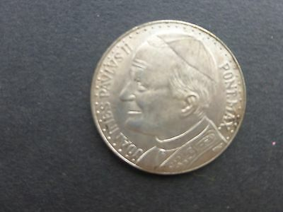 Italy Pope Joannes Pavlvs 11 silver coin